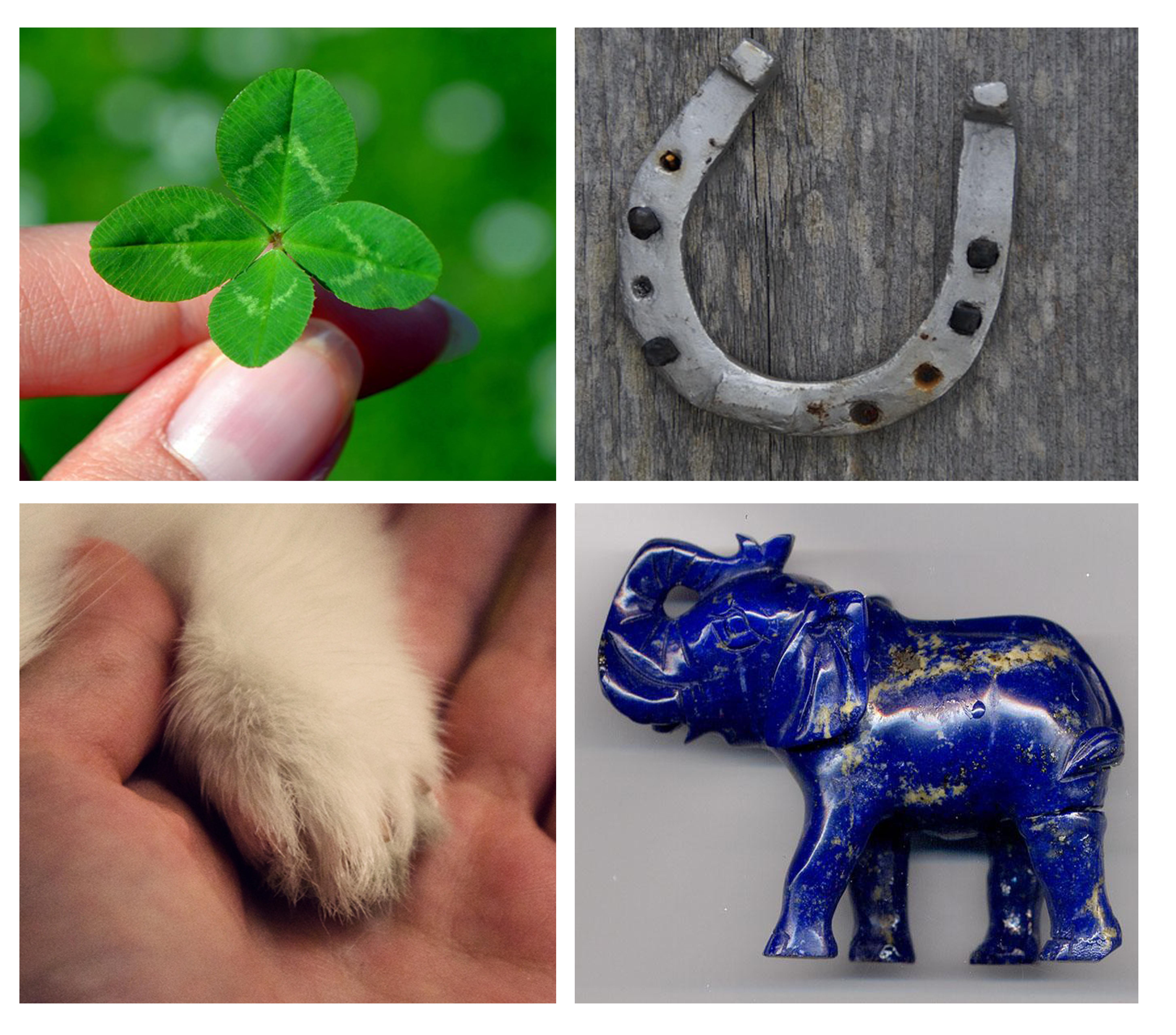 Amuletos de la buena suerte talismanes de fortuna y felicidad historias neupic - Objetos de buena suerte ...